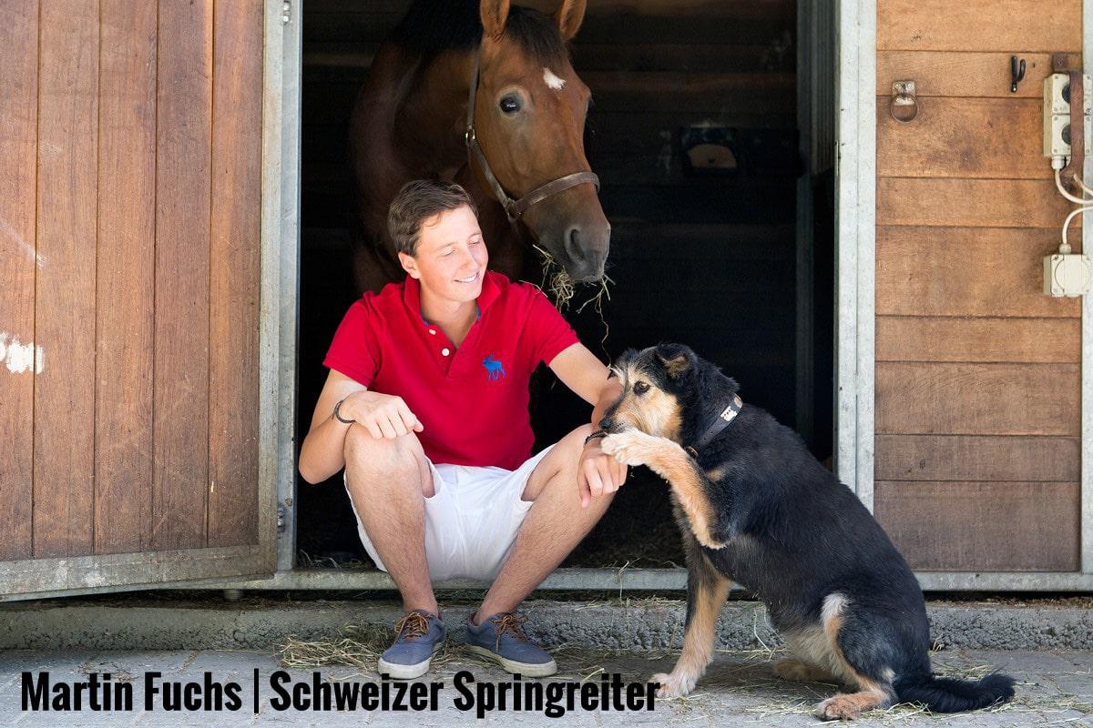 Martin Fuchs | Schweizer Springreiter