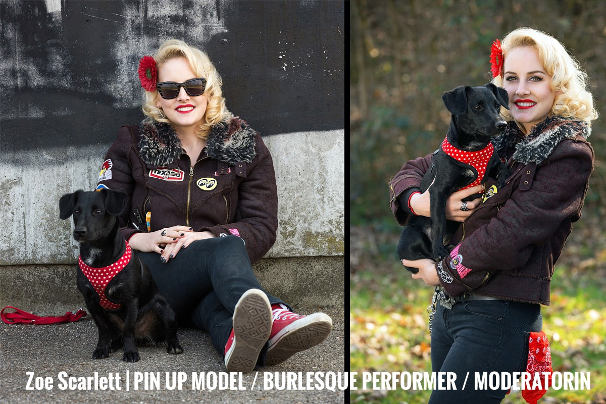 Zoe Scarlett | Pin up Model / Burlesque Performer / Moderatorin