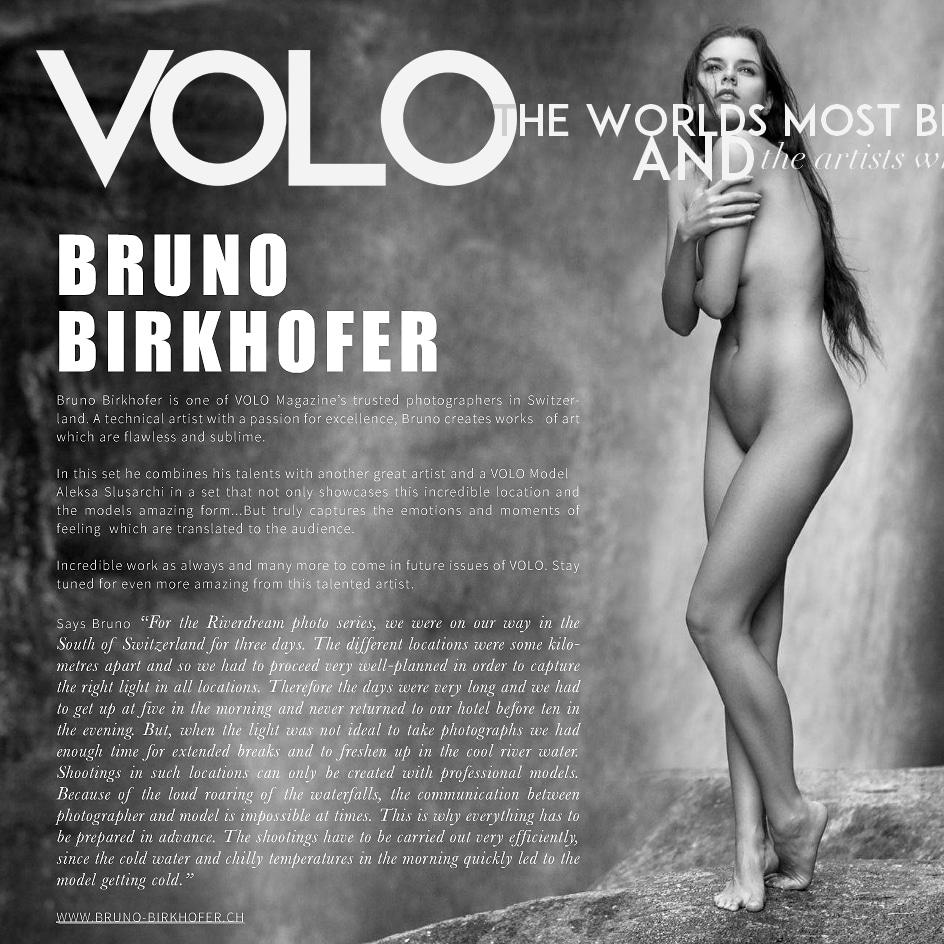 Publikation | Bildstrecke «Riverdreams» für das Amerikanische VOLO Magazine