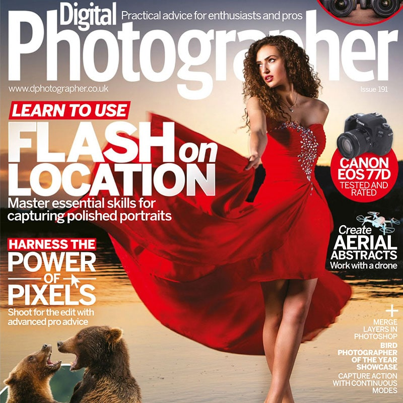 Cover Bild / Digital Photographer Ausgabe 191